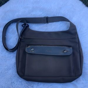 LONGCHAMP Planetes Brown Crossbody Bag. EUC.
